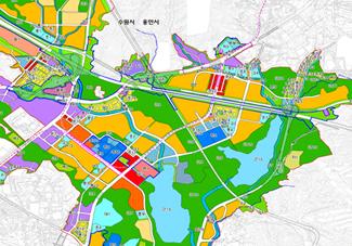 광교신도시 마지막 ´노른자 땅´ 1천600억원에 팔려